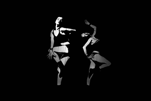 Silhouette Black Art Design Man People - Free Photo 1