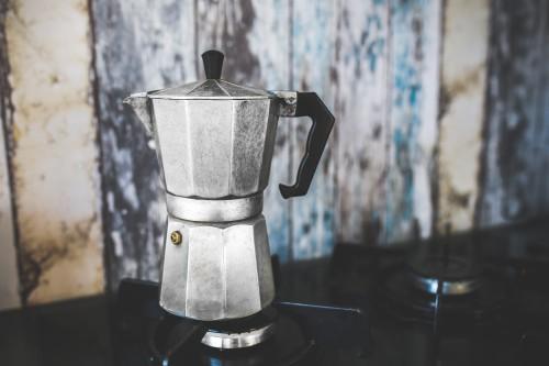 Pot Coffeepot Vessel Container Utensil Drink Metal Kitchen Tea #1