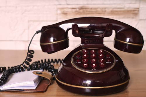 Telephone Dial Equipment Phone Communication Call Vintage Antique Retro