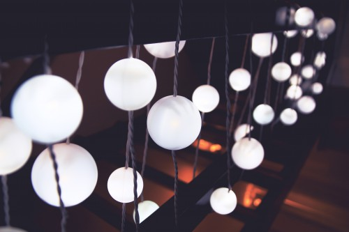 Chandelier Fixture Light Shiny Lights #1