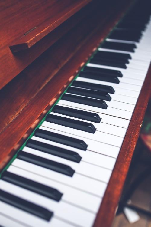 Piano Upright Keyboard Music Instrument Keys - Free Photo 1