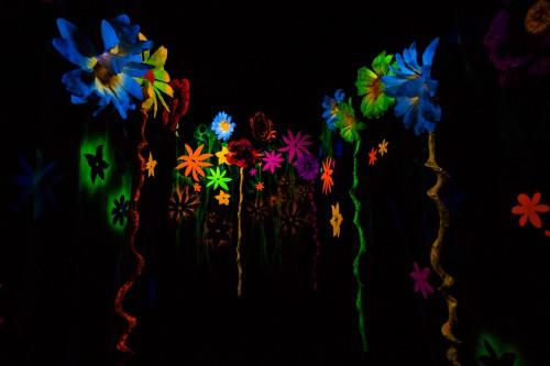 Reef Art Color Aquatic Light Shape Pattern Fractal #1