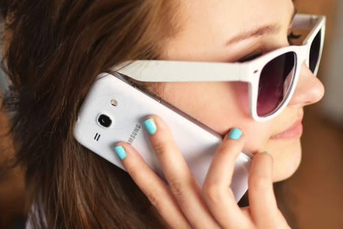 Sunglass Face Portrait Attractive Sunglasses Pretty Person Eyes Telephone Adult - Free Photo 1