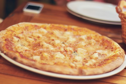 Pizza Dish Nutriment Food Cheese Dinner Meal #1