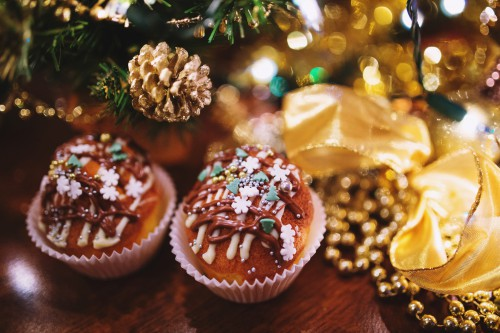 Friedcake Food Bakery Holiday Decoration Dessert Delicious Candy - Free Photo 1