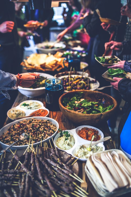 Banquet Board Food Restaurant Dinner Table #1