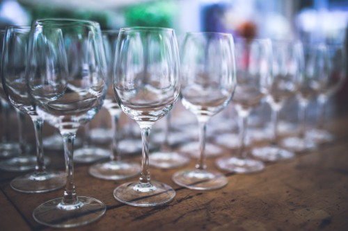 Glass Wineglass Wine Goblet Alcohol Drink Glasses - Free Photo 1