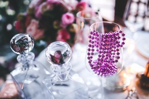 Bangle Glass Celebration Decoration Holiday Wedding #1