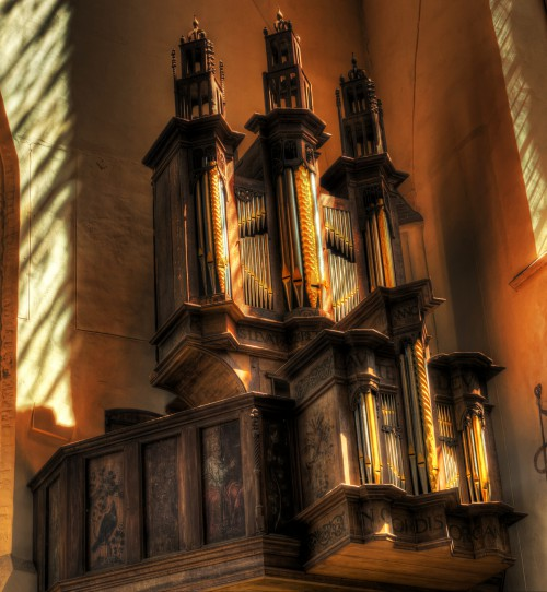Organ Cathedral Church Altar Architecture Religion Building Structure Religious Catholic - Free Photo 1