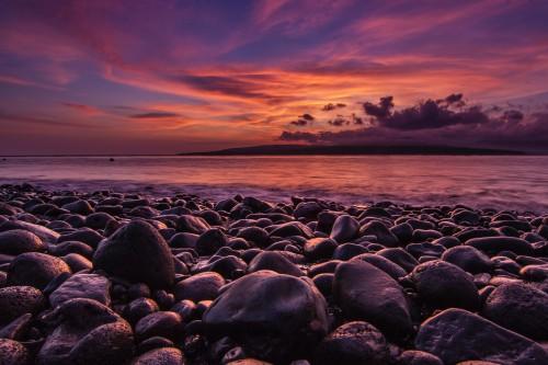 Ocean Sun Sky Sunset Star Sea Landscape - Free Photo 1