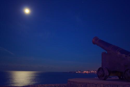 Cannon Gun Weapon Sky Sunset Sun Star - Free Photo 1