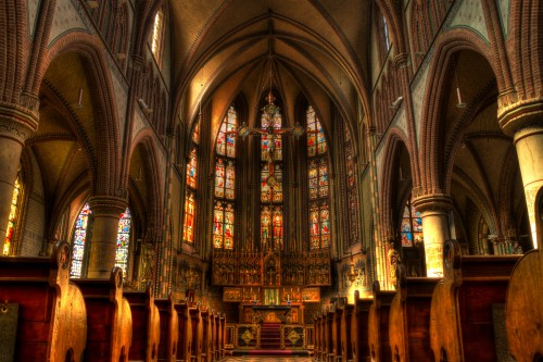 Altar Structure Cathedral Church Religion Architecture - Free Photo 1