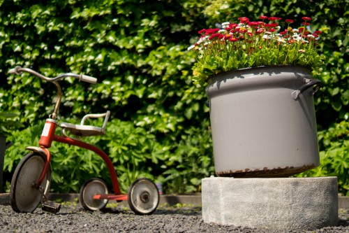 Tricycle Vehicle Tool Conveyance Barrow - Free Photo 1
