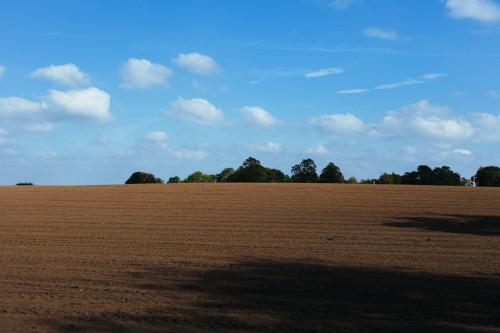 Sky Hay Landscape Field Rural
