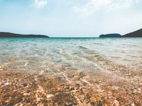 Ocean Beach Sand Sea Water Coast Sky Vacation #1
