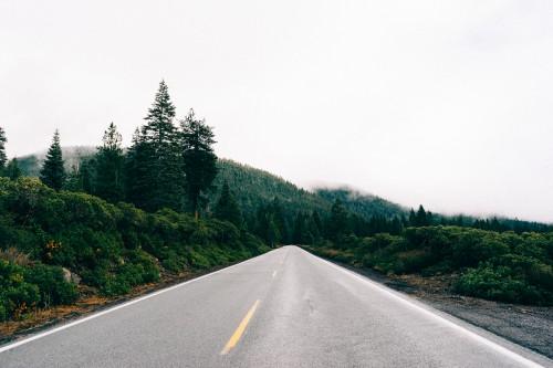 Road Ascent Landscape Highway Sky Asphalt Slope Travel - Free Photo 1