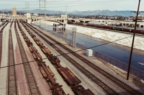 Track Travel Railway Train Railroad Transportation Rail Pier #1