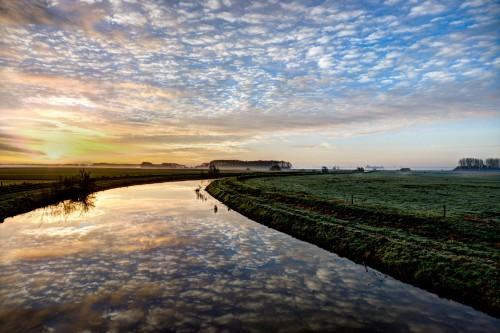 Water Landscape Barrier Breakwater Shoreline Sky River #1