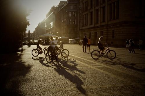 Bicycle Snow Bike City Vehicle Weather Architecture - Free Photo 1